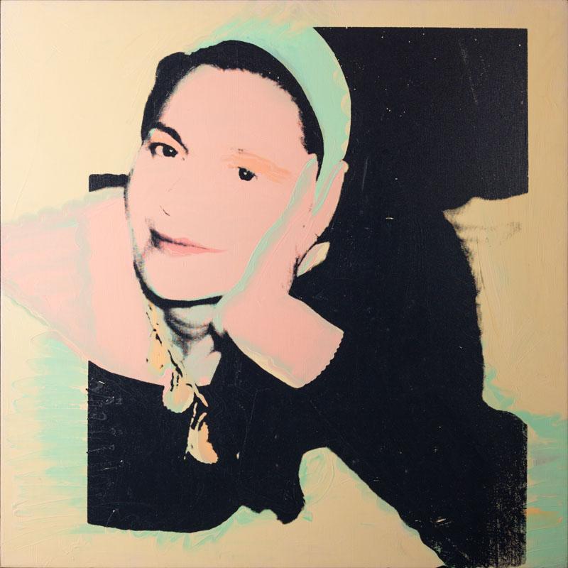 Portrait of Marie-Louise Jeanneret, 1974