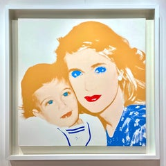 Portrait of Patty Raynes and Son