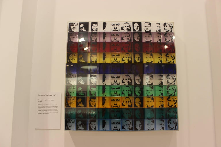 Portraits of the Artists (FS II.17) - Pop Art Print by Andy Warhol