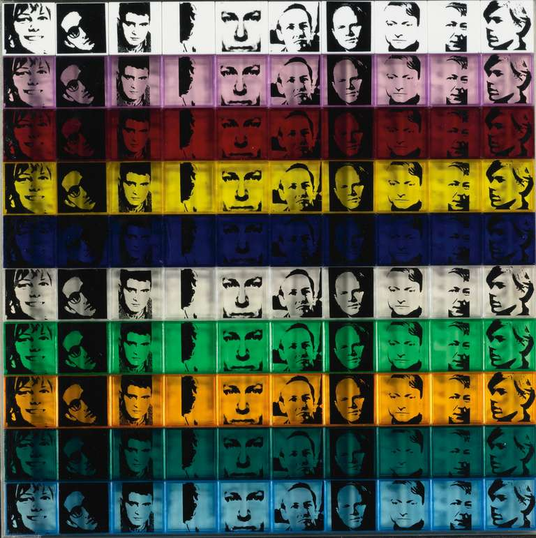 Portraits of the Artists (FS II.17) - Print by Andy Warhol