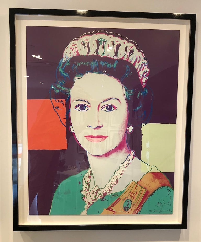 Queen Elizabeth II of the United Kingdom (FS II.335) - Print by Andy Warhol