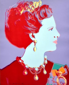 Queen Margrethe II (from Reigning Queens Series), Unique Trial Proof, 1985