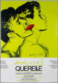 """Querelle,"" poster designed by Andy Warhol"
