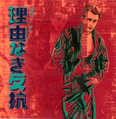 Rebel Without a Cause (James Dean) - Andy Warhol, Pop Art, Contemporary Art