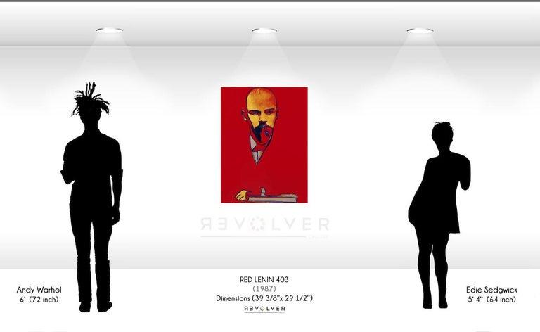 Red Lenin (FS II.403)  - Pop Art Print by Andy Warhol