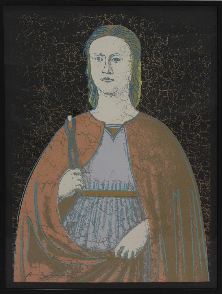 Saint Apollonia (FS II.331) - Print by Andy Warhol