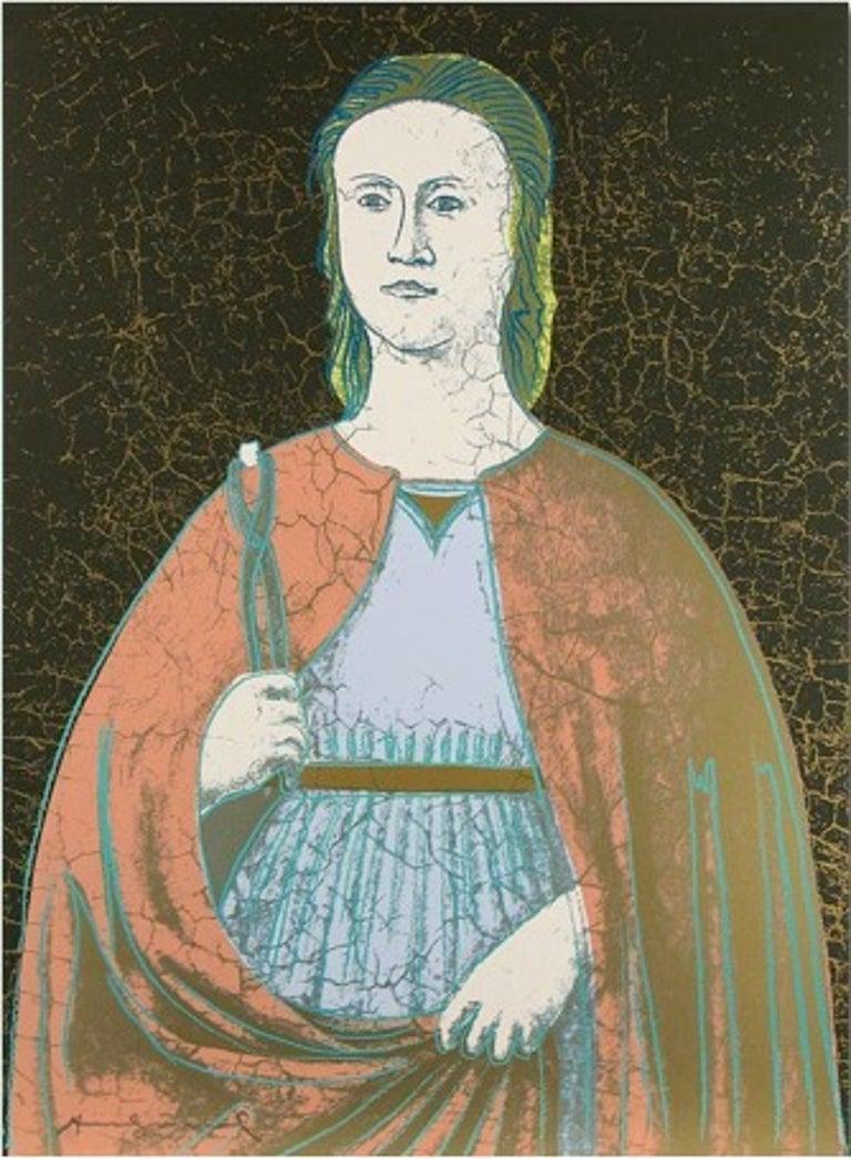 Andy Warhol Print - Saint Apollonia (FS II.331)