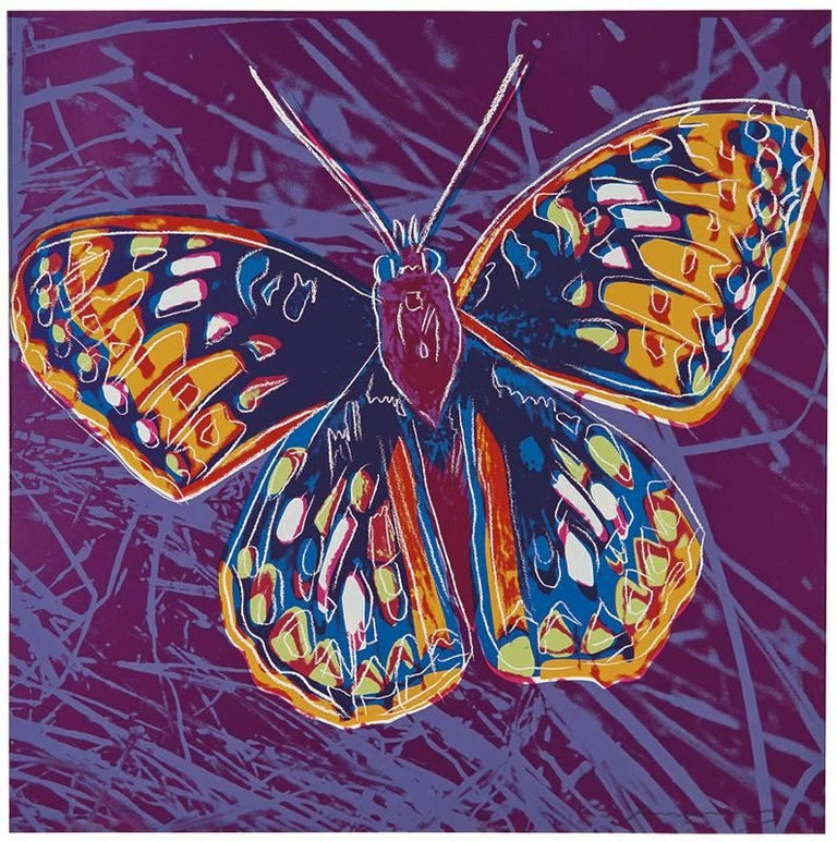 Andy Warhol Animal Print - San Francisco Silverspot from the Endangered Species Portfolio F&S II.298