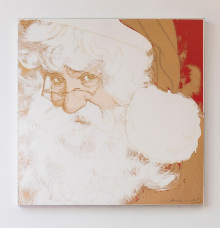 Santa Claus (FS II.266) - Pop Art Print by Andy Warhol