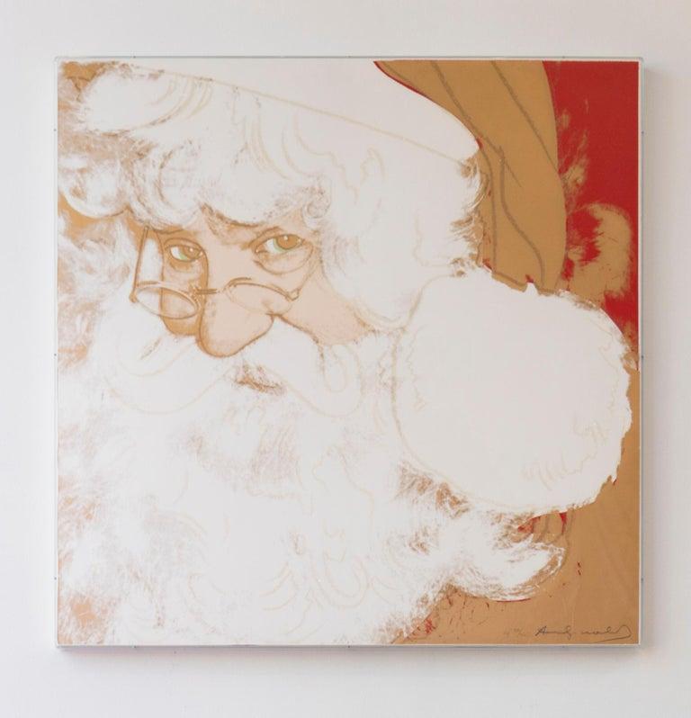 Santa Claus (FS II.266) - Pop Art Print by Andy Warhol