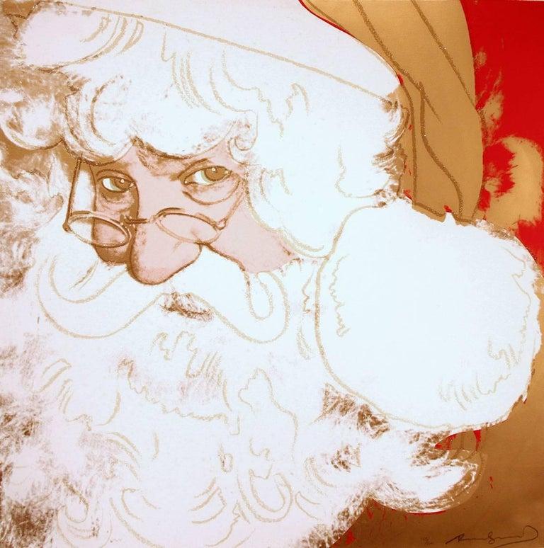 Santa Claus (FS II.266) - Print by Andy Warhol