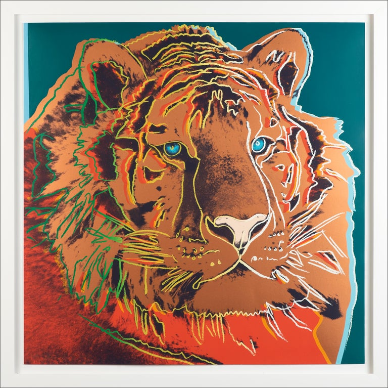 Siberian Tiger - Print by Andy Warhol