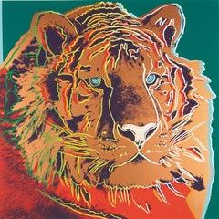 Siberian Tiger, Andy Warhol