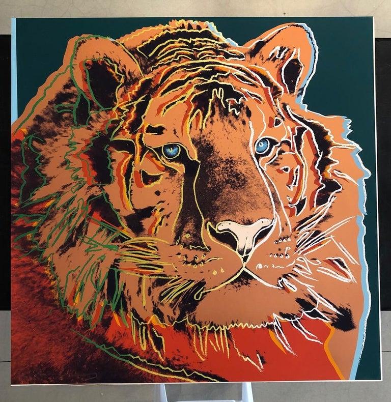 Siberian Tiger (FS II.297) - Print by Andy Warhol
