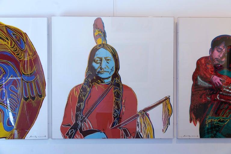 Sitting Bull (FS IIIA. 70)  - Print by Andy Warhol