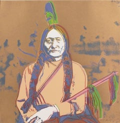 Sitting Bull Trial Proof (FS IIB.376) by Andy Warhol