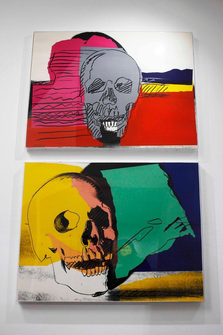 Skull (FS II.158) - Pop Art Print by Andy Warhol