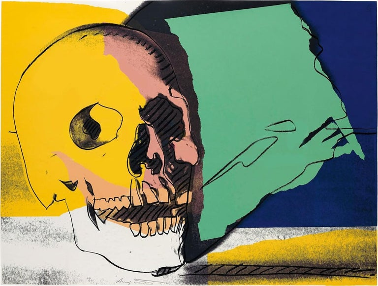 Skull (FS II.158) - Print by Andy Warhol