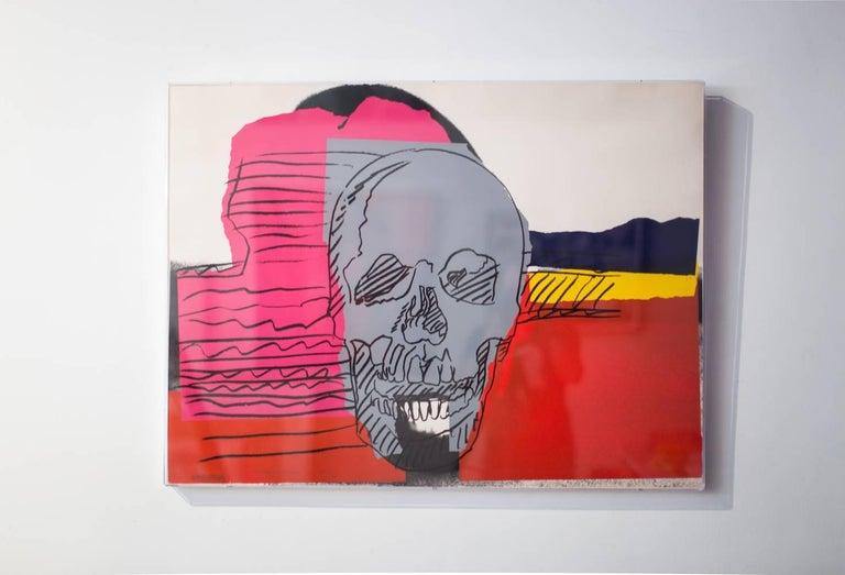 Skull (FS II.159) - Print by Andy Warhol