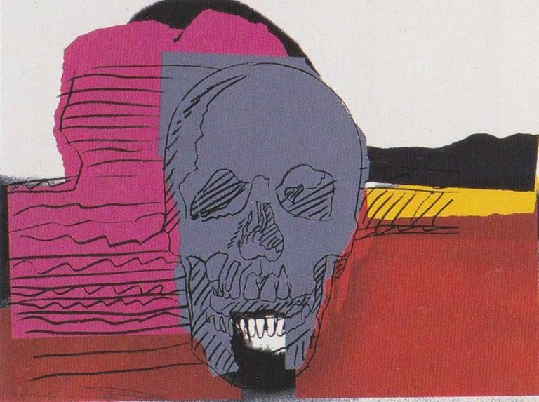 Andy Warhol Still-Life Print - Skull (FS II.159)