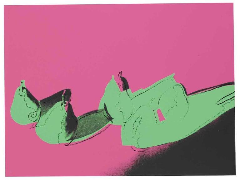 Andy Warhol Still-Life Print - Space Fruit Pears (FS II.203)