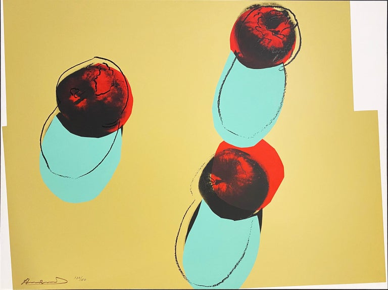 Space Fruit: Still Lifes - Print by Andy Warhol