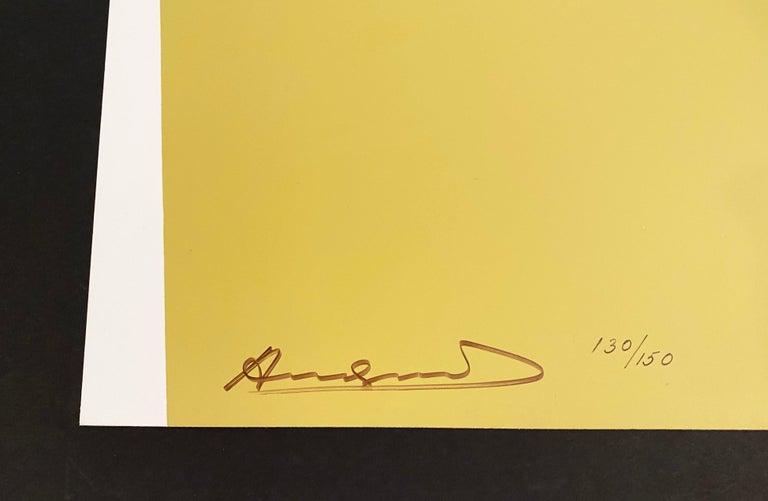 Andy Warhol Apples Artist: Andy Warhol Medium: Screenprint on Lenox Museum Board Title: Apples Portfolio: Space Fruit: Still Lifes Year: 1979 Edition: 130/150 Sheet Size: 40