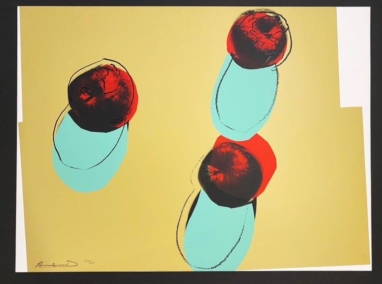 Andy Warhol Still-Life Print - Space Fruit: Still Lifes
