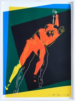 Andy Warhol - Speed Skater