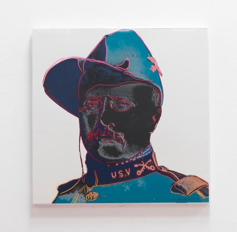 Teddy Roosevelt (FS II.386) - Print by Andy Warhol