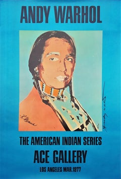 The American Indian Series: Ace Gallery (Double Signed)