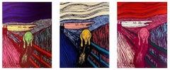 The Edvard Munch Scream Suite, Three Artworks (Sunday B. Morning)