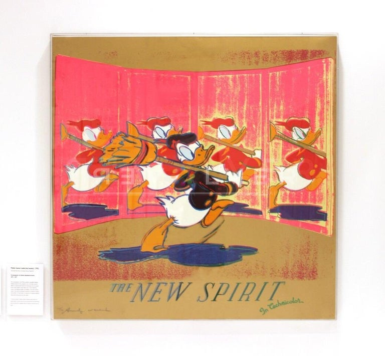 The New Spirit (Donald Duck) (FS II.357) - Pop Art Print by Andy Warhol