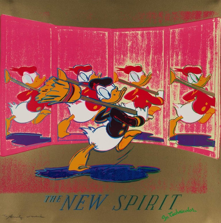 The New Spirit (Donald Duck) (FS II.357) - Print by Andy Warhol