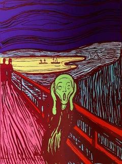 The Scream, Edvard Munch, Green (Sunday B. Morning)