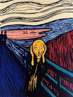 The Scream, Edvard Munch, Orange (Sunday B. Morning)