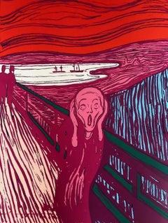 The Scream, Edvard Munch, Pink (Sunday B. Morning)