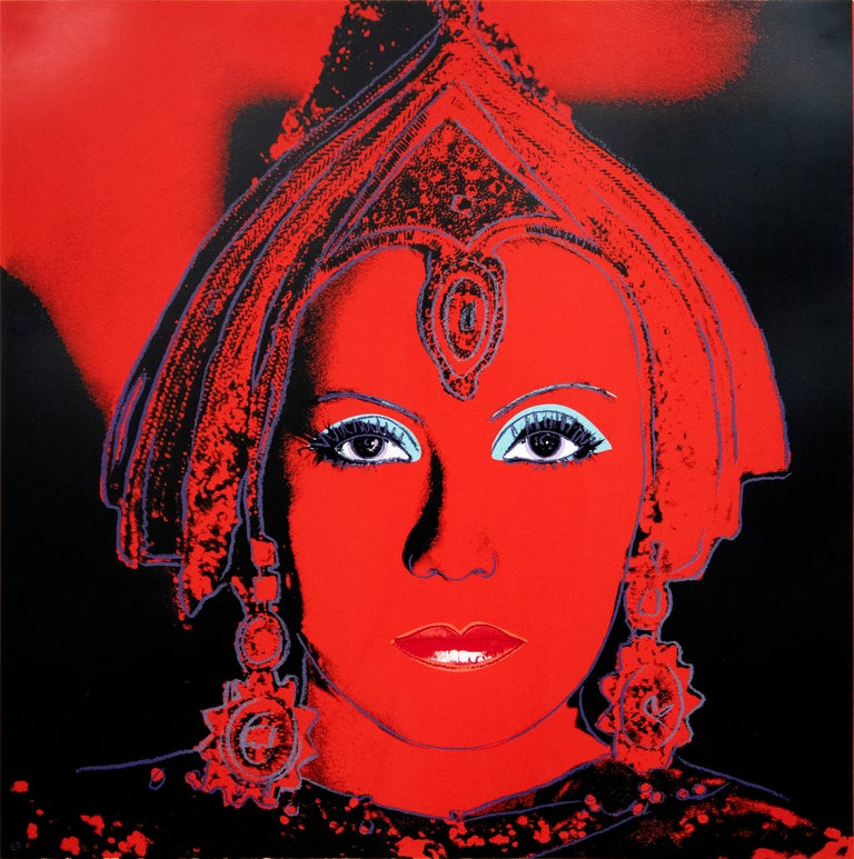 Andy Warhol Figurative Print - The Star, from Myths