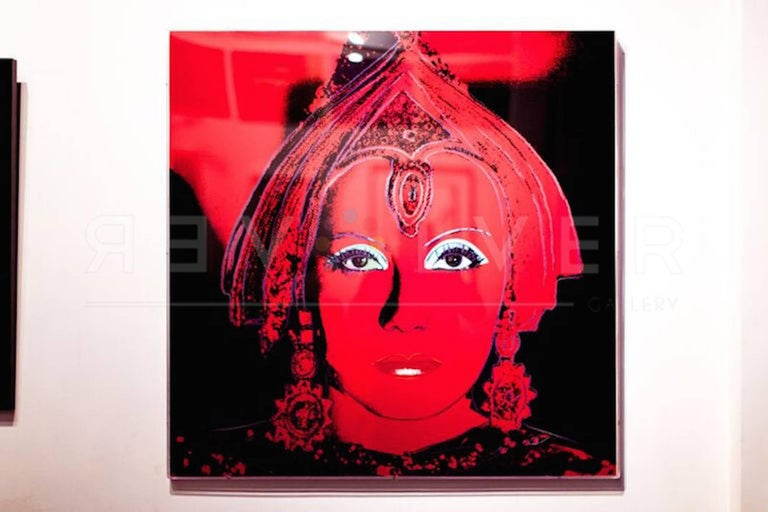 The Star (FS II.258) - Print by Andy Warhol
