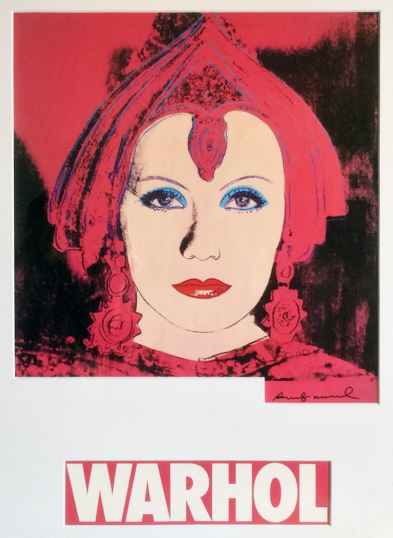 Andy Warhol Figurative Print - The Star (Mata Hari)