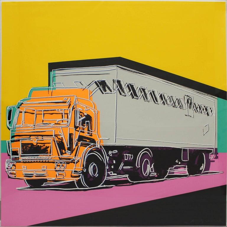 Truck, Complete Portfolio (FS II.367-370) - Print by Andy Warhol