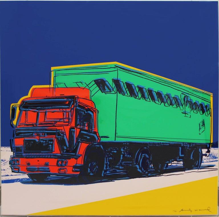 Truck, Complete Portfolio (FS II.367-370) - Black Still-Life Print by Andy Warhol