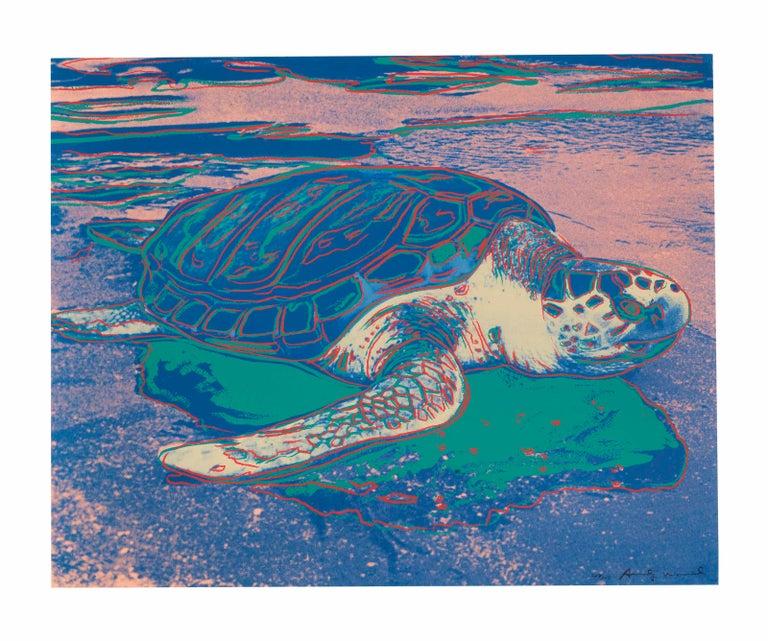 0e34a10ac8942 Andy Warhol - Turtle