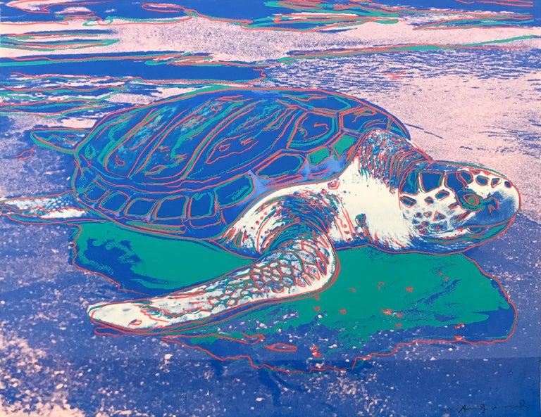 TURTLE FS II.360A - Print by Andy Warhol