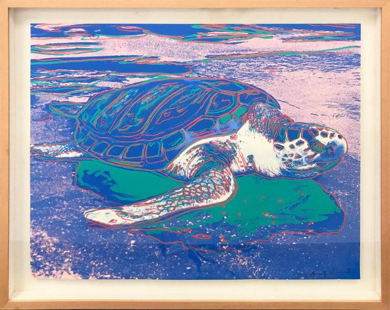Andy Warhol Animal Print - TURTLE FS II.360A