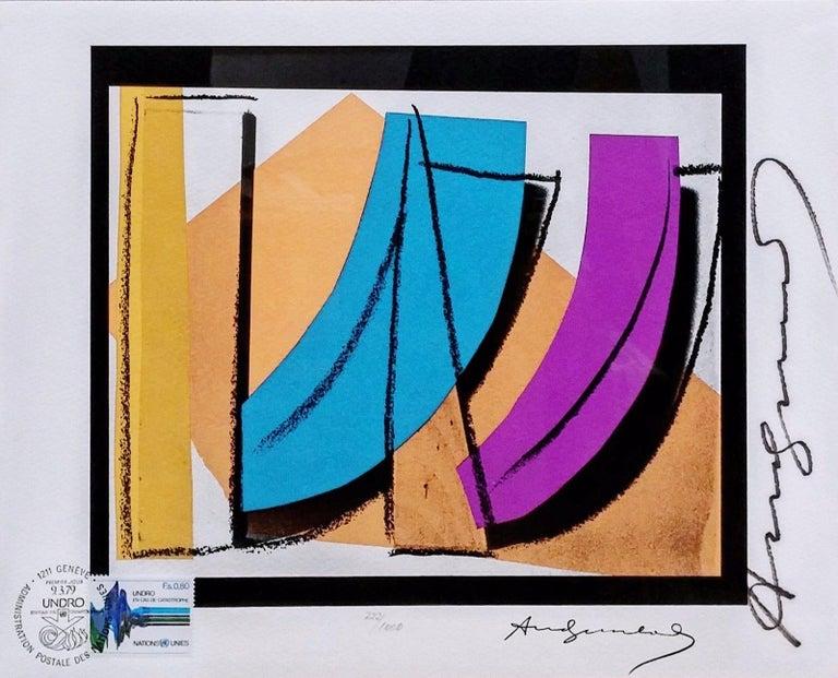 Andy Warhol Still-Life Print - U.N. STAMP FS II.185