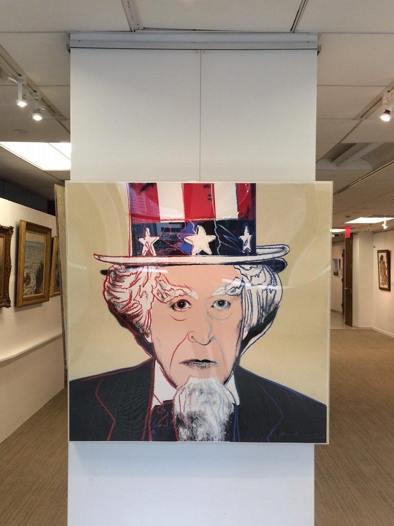 Uncle Sam (FS II.259) - Print by Andy Warhol