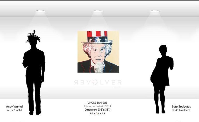 Uncle Sam (FS II.259) - Pop Art Print by Andy Warhol