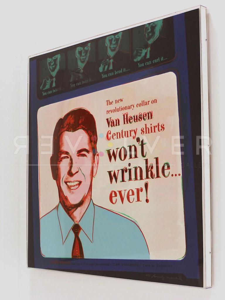 Van Heusen (Ronald Reagan) (FS II.356) - Pop Art Print by Andy Warhol