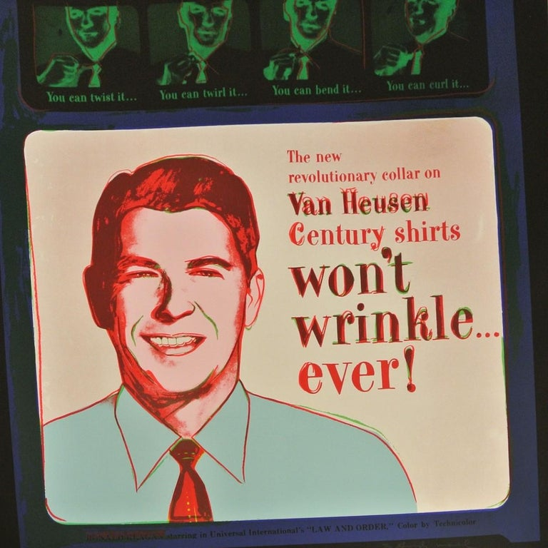 Van Heusen (Ronald Reagan) (FS II.356) - Print by Andy Warhol